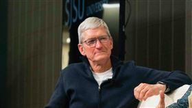 蘋果公司執行長庫克。(圖/翻攝自庫克推特)