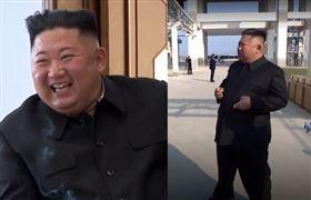 ▲金正恩抽菸相片。(圖/截自韓國媒體)