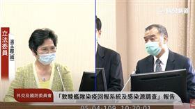 邱國正表示金正恩確實有病。(圖/翻攝自國會頻道)