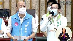 議會,韓國瑜,陳致中,道歉,罷韓,第二預備金