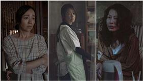 誰是被害者,丁寧,季芹,林心如。(Netflix提供)