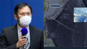 美軍超音速轟炸機飛行掠過台灣東北方…國防部回應了(組合圖/資料照、翻攝推特)