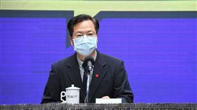 行政院5日舉行紓困振興方案-「看好台灣 回流資金持續加碼」記者會。(圖/行政院提供)