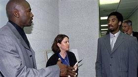 Michael Jordan與Kobe Bryant。(圖/翻攝自推特)