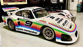 ▲仿製版蘋果Porsche 935 K3賽車。(圖/翻攝atlantismotorgroup網站)