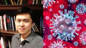 「武肺病毒將有重大發現」美華裔研究員卻離奇遭謀殺(劉賓) (圖翻攝自匹茲堡大學官網http://www.pitt.edu/~liubing/)、(圖/翻攝自中央研究院 Academia Sinica)