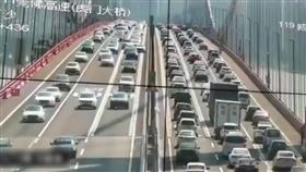 (圖/翻攝自推特@cockcrow2019)中國,廣東,虎門大橋,呼吸