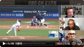 ▲ESPN轉播韓國職棒。(圖/翻攝自Marc Luino推特)