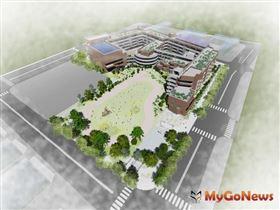 竹北市嘉豐國小新建案,將打造竹縣首座鑽石級綠建築校園(圖/新竹縣政府)