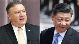 蓬佩奧祝賀小英…中國崩潰狂發聲明