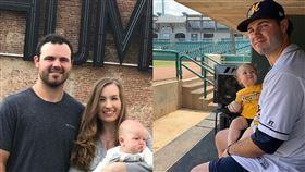妻兒慘死 光芒投手:看到新聞崩潰了 MLB,坦帕灣光芒,Blake Bivens,謀殺,崩潰,槍殺 翻攝自推特