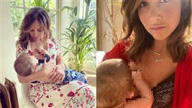 新手父母難為 女星「哺乳照」秀支持 育嬰,哺乳,Myleene Klass,母乳,新手父母 翻攝自Myleene Klass IG