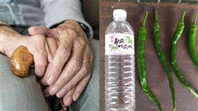 線椒,成精,太長,自種,辣椒,蔬果,阿婆,鄰居