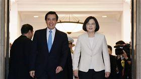 前總統馬英九、總統蔡英文(圖/翻攝自王浩宇臉書)