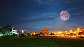 超級大月亮 埔里(圖/翻攝畫面)