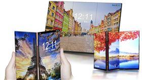 群創推低溫多晶矽摺疊手機面板群創光電23日宣布,因應今年摺疊螢幕大戰,推出採全高清低溫多晶矽(FHD LTPS)技術的5.99吋摺疊平板手機面板。(群創提供)中央社記者潘智義傳真 108年8月23日