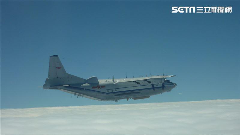 不先回去救災?共軍1架「運8反潛機」擾台 空軍兵力應對