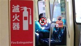 捷運,哺乳,吸奶,飲食(圖/翻攝自爆廢公社二館)