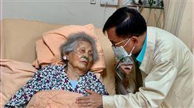 陳水扁探視住院的扁媽