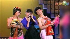 金曲歌后江蕙被豬哥亮逗到唱不下去。(圖/資料畫面)