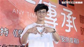 汪東城今(10日)出席台灣優質生命協會「2020愛傳承-線上關懷演唱會」。圖/記者林聖凱攝影