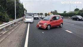 國道3號,苗栗,車禍 翻攝畫面