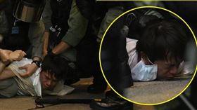 香港百人被捕!曾嗆林鄭「蔡英文都要感謝你」…議員也送醫(圖/立場新聞)