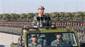 習近平,中國,解放軍,軍力,共軍 圖翻攝自新華網