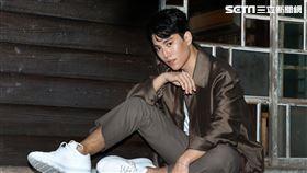 前男團 SpeXial 成員子閎以本名林子閎重新出發。(記者邱榮吉/攝影)
