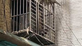台北,西門町,火警,美國街(圖/翻攝畫面)