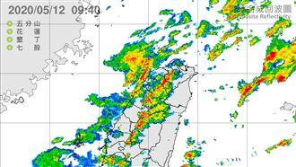 台北今現強降雨 12縣市大雨特報中