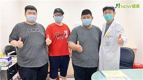 名家專用/NOW健康/趙世晃醫師門診中,有3位好友相約一起來減重,透過手術的幫忙,術後2個月3人一共減掉80公斤;不但體態改變了,三高健康指標也改善了。(勿用)