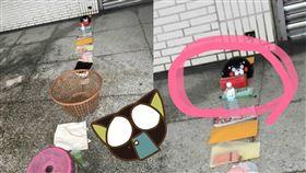 離島漁會驚見排隊奇景,蘇打餅乾都可以拿來站位。 (圖/翻攝自爆廢公社2館)
