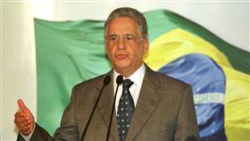 前巴西總統卡多索(Fernando Henrique Cardoso)。(圖/美聯社/達志影像)