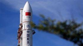 中國最大火箭「長征五號B」。(圖/翻攝自微博)