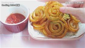 ▲「香脆扭扭薯圈」僅需簡單幾步驟就能完成。(圖/Cooking Bubu 授權)