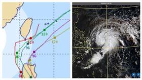 「黃蜂」颱風歐洲模式預測有點讓人擔心,恐怕會在「恆春」擦邊球!(圖/翻攝typhoon2000)