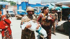 醫院遭恐攻16人亡 2嬰來不及長大 阿富汗,恐攻,產科病房,新生兒,無國界醫生,伊斯蘭國 翻攝自推特