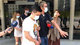 警方訊後將宋男及施女依妨害公務移送法辦。(圖/記者楊忠翰攝影)