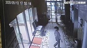 板橋,女童,墜樓,自行搭電梯 翻攝畫面