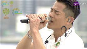 郭富城昨(9號)在海港城勁歌熱舞唱到流淚。(圖/LiTV  線上影視提供)