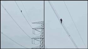 高壓電線,高風險職業,工程人員,生命賺錢,辛苦,危險,敬佩