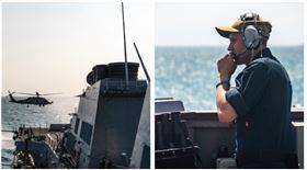 ▲國防部證實,美作戰艦由北向南航經台灣海峽,執行一般航行任務。(圖/翻攝《U.S. Pacific Fleet》臉書)