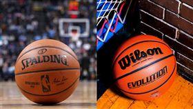 NBA/S牌掰掰?傳將更換比賽用球 NBA,籃球,斯伯丁,威爾森,比賽用球 翻攝自推特