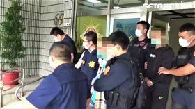 台北市刑大偵七隊搗破天道盟太陽會大同分會。(圖/翻攝畫面)