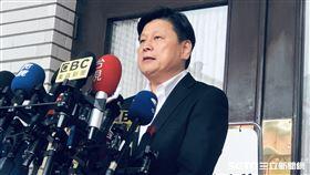 立委,傅崐萁,回應炒股判囚2年10月定讞,記者會(圖/記者林恩如攝影)