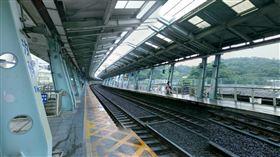 汐科,台鐵,火車站,月台(翻攝自 Google街景)
