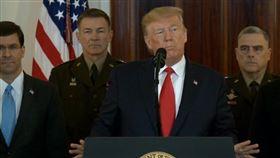 伊朗,川普,伊朗革命衛隊,美軍基地,導彈,伊美,發表談話,白宮(原圖ID=2349229)