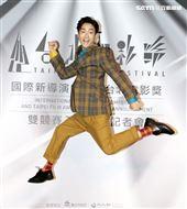台北電影獎上屆最佳男配角林鶴軒。(記者邱榮吉/攝影)
