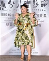 台北電影獎上屆最佳新演員蔡嘉茵。(記者邱榮吉/攝影)